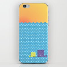 Having a whale of a time iPhone Skin