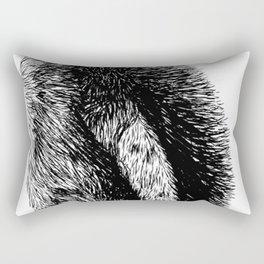 Penguin sketch Rectangular Pillow
