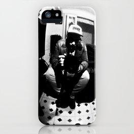 Johan B & W iPhone Case