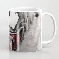 venom Mugs featuring venom by rchaem