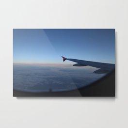 L'aereo - Mattemike Metal Print