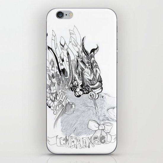 Cherokee Bear iPhone & iPod Skin