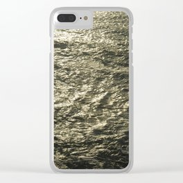 Sea Morning Clear iPhone Case