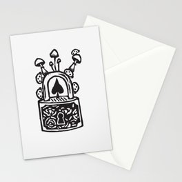 Lock Stationery Cards