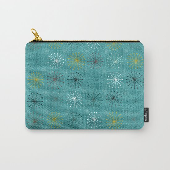 seedheads blue Carry-All Pouch