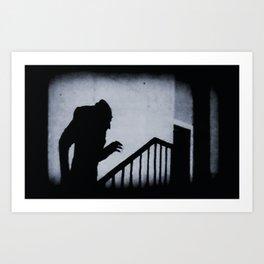 Nosferatu Classic Horror Movie Art Print