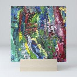Abstract painting 12 Mini Art Print