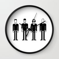 u2 Wall Clocks featuring U2 by Band Land