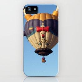 Humpty Dumpty Hot Air Balloon iPhone Case