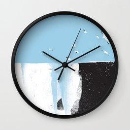 Glacial Spring Wall Clock