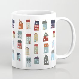 Little Houses Coffee Mug