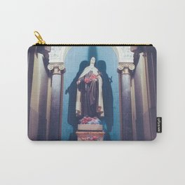 St Theresa Carry-All Pouch