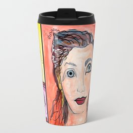 Inspired by a profile picture on Facebook of someone I do not know Travel Mug