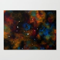Final Frontier Abstract Canvas Print