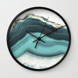 Sea Agate Wall Clock