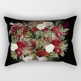 Flower lady Rectangular Pillow