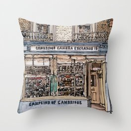 CAMPKINS Throw Pillow