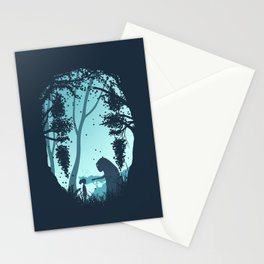Lonely Spirit Spirited Away Stationery Cards