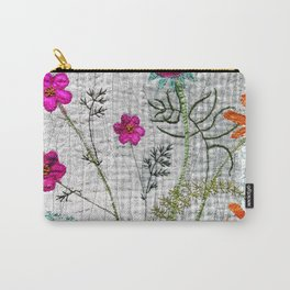 Go wild, flowers! Carry-All Pouch