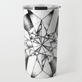Crystalline Compass Travel Mug