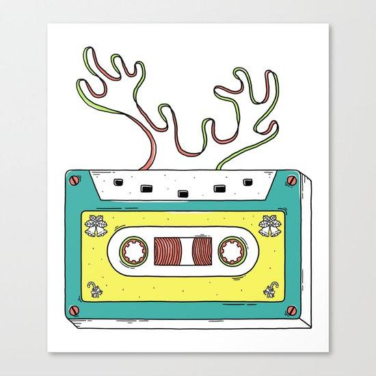 Classic christmas Canvas Print