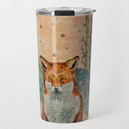 Daydreaming Fox Travel Mug