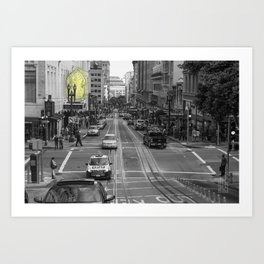 Unseen Monsters of San Francisco - Chubby Widsets Art Print