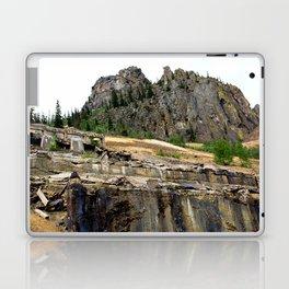 At the Base of the Sunnyside Mill at Eureka, on the Animas River Laptop & iPad Skin
