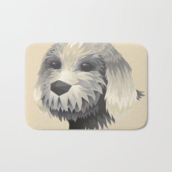 Cute Dog Bath Mat