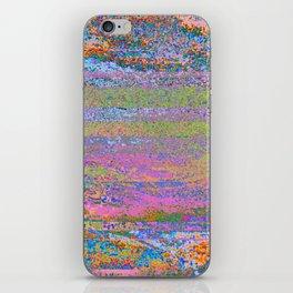 51-23-76 (Pastel Rainbow Glitch) iPhone Skin