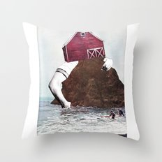 Pillarist Throw Pillow