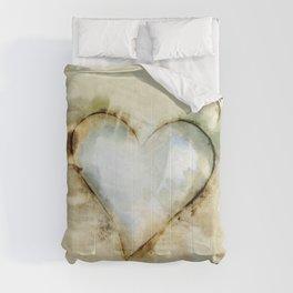 Love Unfolding No.26A by Kathy Morton Stanion Comforters