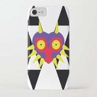 majora iPhone & iPod Cases featuring Minimalist Majora by Bradley Bailey
