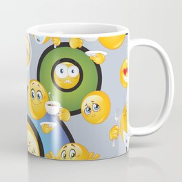 Emoji Pattern 3 Coffee Mug