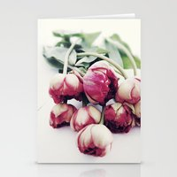 tulips Stationery Cards featuring Tulips by Sirka H.