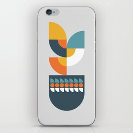 Geometric Plant 01 iPhone Skin