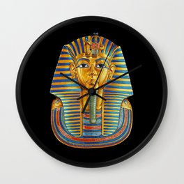 King Tut Wall Clock