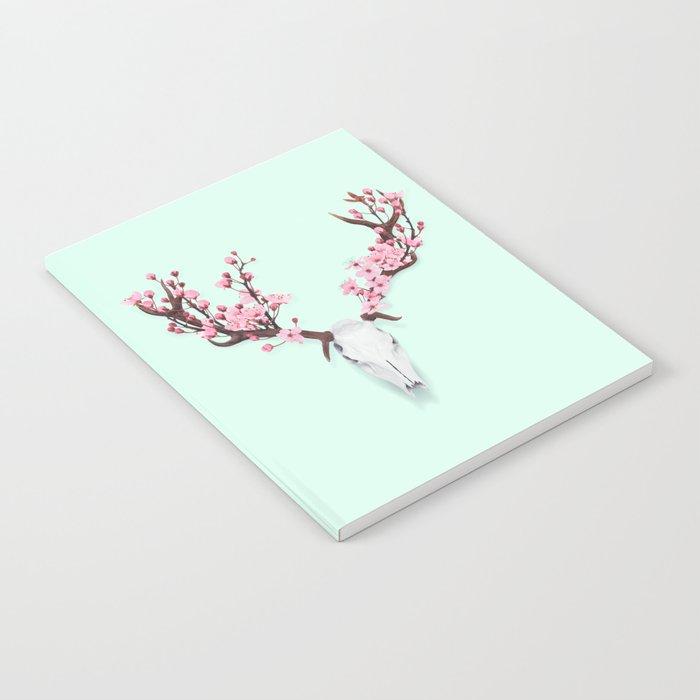 CHERRY BLOSSOM SKULL Notebook
