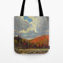 Tom Thomson Hillside, Smoke Lake 1914 Canadian Landscape Artist Tote Bag
