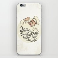 chef iPhone & iPod Skins featuring CHEF by Mike Koubou