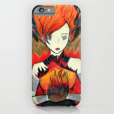 Girl on Fire iPhone 6s Slim Case