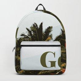 Goa Beach Tropical Backpack