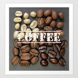 Coffee Heaven Art Print