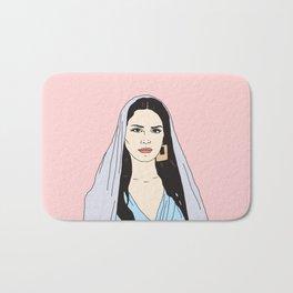 Lana DelRey Bath Mat