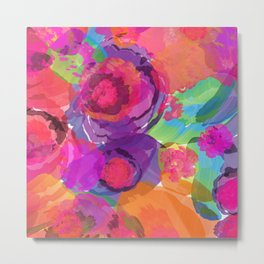 Floral Abstract 85 Metal Print