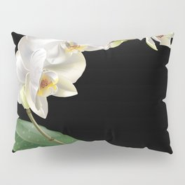White orchid Pillow Sham