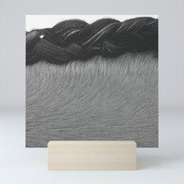 Braided Mane Mini Art Print