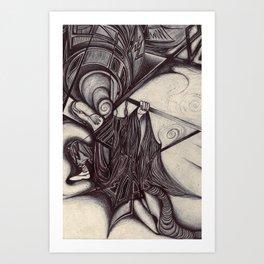 s w o r d  Art Print