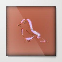 Little Dickie Bird Metal Print