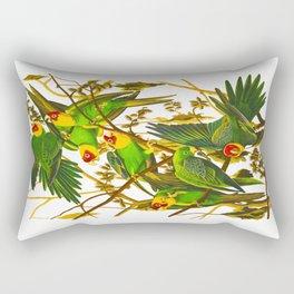 Carolina Parrot Rectangular Pillow